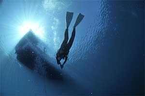 Cómo nadar con aletas de buceo