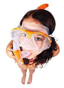 Tamaño máscara buceo